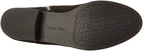 Calvin Size Womens Closed 0 10 Knee High Black Toe Cyra Klein Fashion Boots rvxwr
