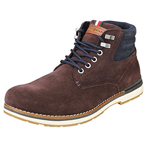 Tommy Hilfiger Outdoor Mens Boots Coffee Bean - 41 EU