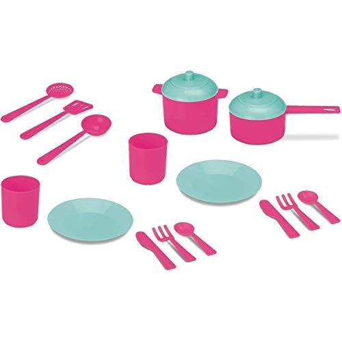 Doce Cozinha Almocinho Cardoso Rosa/Azul