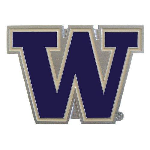 NCAA Washington Huskies Sports Team Logo Hitch Cover Class III Wire Plugs