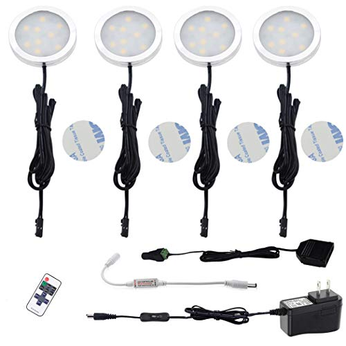 12V Led Puck Lights Dimmable in US - 5
