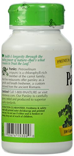 033674153000 - Nature's Way Parsley Leaf Capsules, 450 mg, 100-Count carousel main 5