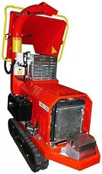 Caravaggi Triturador térmico Bio 235L TN–Diesel 27CV–Diámetro 12cm–Sobre orugas