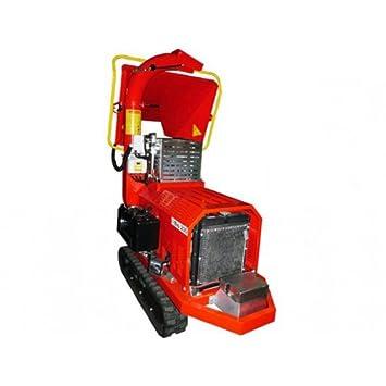 Caravaggi Triturador térmico Bio 235 L TN - Diesel 27 CV - Diámetro 12 cm - Sobre orugas: Amazon.es: Jardín