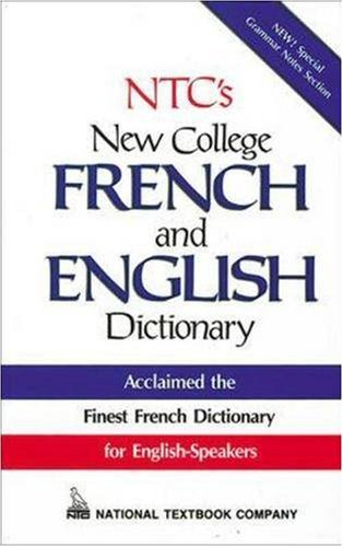 NTC's New College French and English Dictionary (French Dictionary New World)