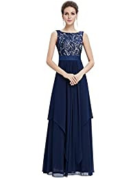 Elegant Sleeveless Round Neck Party Evening Dress 08217
