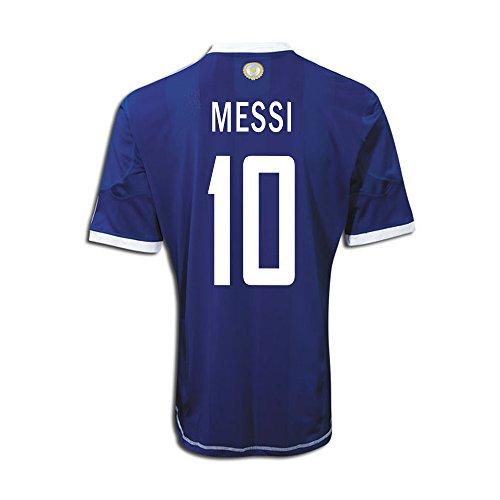 Messi #10 Argentina Away Jersey (L)