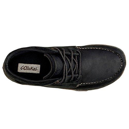 Hāmākua Foncé Homme Olukai Noir Gris nbsp;– à chaussures nbsp;pour fwPx6A