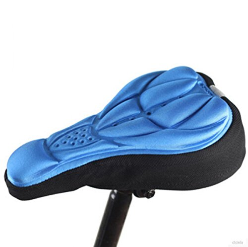 Price comparison product image OLIVE US-Hot Cycling Bike Bicycle 3D Silicone Saddle Seat Cover Gel Cushion Soft Pad