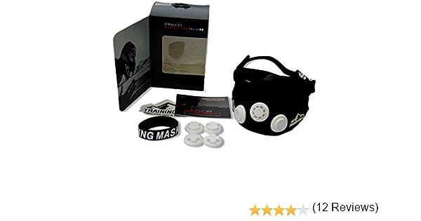 Mascara de Entrenamiento Deportivo Training Mask 2.0: Amazon.es ...