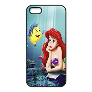 Ariel the Little Mermaid Cartoon Hard Case Skin for Stars Iphone 5s/5 Case APL722615