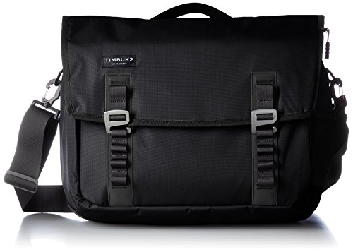 Timbuk2 Command Travel-Friendly Messenger Bag 2015, Jet Black, M, Medium