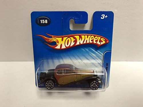 1932 BUGATTI TYPE 50 Hot Wheels 2005 First Editions diecast No 158 ~ RARE Short Carded