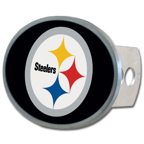 NFL Pittsburgh Steelers Oval Hitch Cover, Class II & III