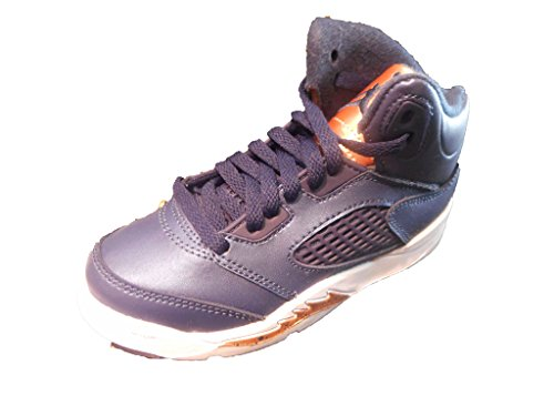 Nike Air Jordan 5 Retro BP Obsidian/Bronze 440889-416 (SIZE: 3Y)