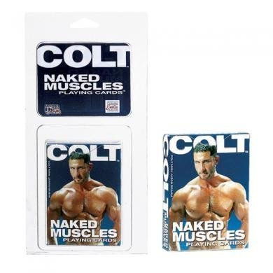 COLT Naked Men Playing Cards ( 2 Pack ) by Sh-yolada