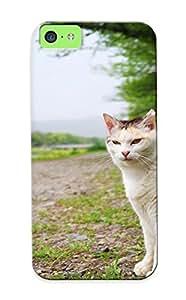 Ednahailey New Arrival Moxyst-524-lwrijvj Premium Iphone 5c Case(cat In Nature )