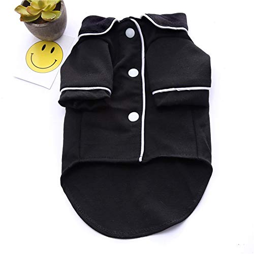 HBK2 Soft Pet Cat Clothes Cotton Kitten Outfit Winter Clothing for Small Cats Costume Fashion Warm Cat Clothes Winter Pet Clothing ()