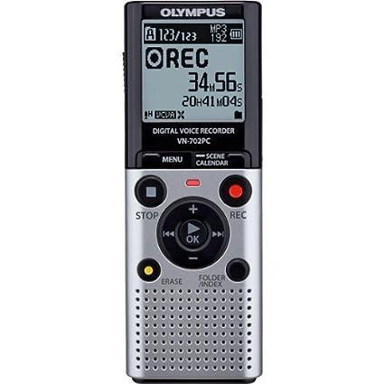 amazon com olympus vn 702pc voice recorder electronics rh amazon com RCA Digital Voice Recorder Digital Voice Recorder Manual