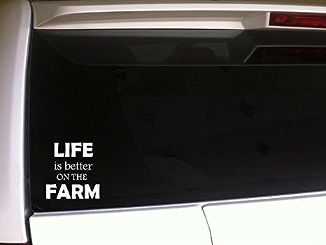 Vida en la granja calcomanía Tractor parts//farming etiqueta adhesiva