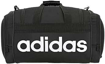 adidas Unisex Santiago Duffel Bag, Black/White, ONE Size