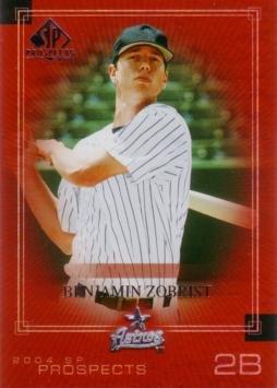2004 Upper Deck SP Prospects Baseball #202 Ben Zobrist Rookie Card - Sp Top Prospects Baseball