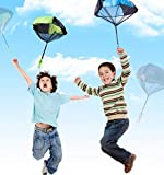 Parachute Toy, Tangle Free Throwing Toy