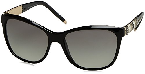 Bvlgari 8104 901/11 Black 8104 Cats Eyes Sunglasses Lens Category 2 (Sunglasses Bvlgari)
