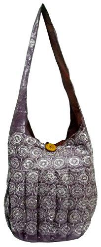 Color Jhola Shoulder Boho Sequins 278 Designer Mauve Indian Embroidered Bag dwUdax