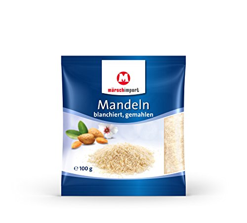 Märsch Mandeln blanchiert gemahlen 3er Pack (3 x 100g)
