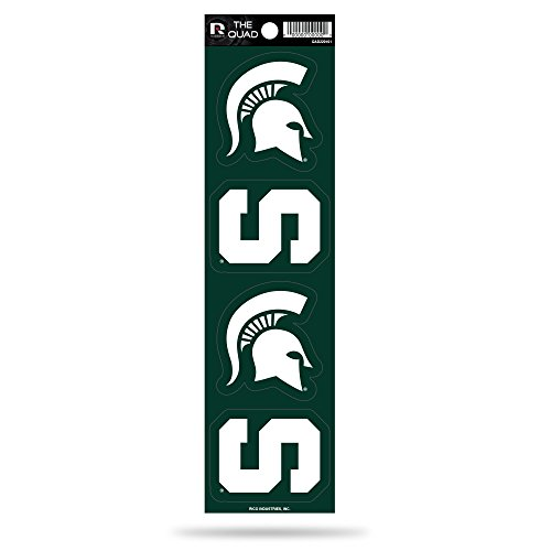 Rico NCAA Michigan State Spartans Quad Decal ()