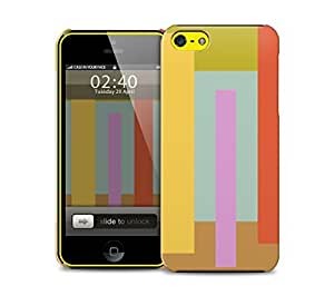 abstract lines iPhone 5c protective phone case