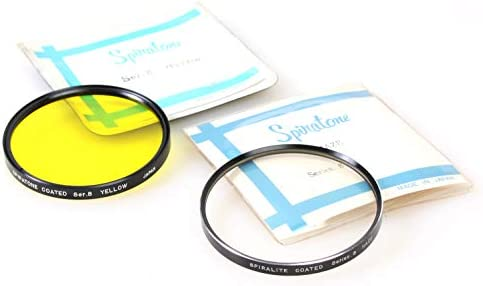 Spiratone Series 8 Yellow /& Haze Set of 2 VIII Filters