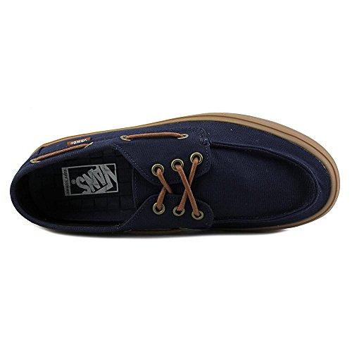 Vans Chauffeur SF (Gewaschen Schwarz) Herren Skate Schuhe Marine / Gummi