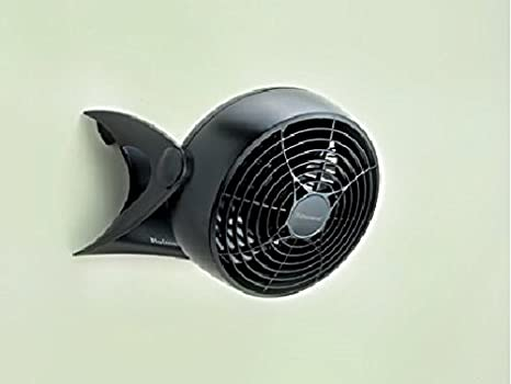 Holmes Convertible Desk /& Clip Fan Black HCF0611A-BM