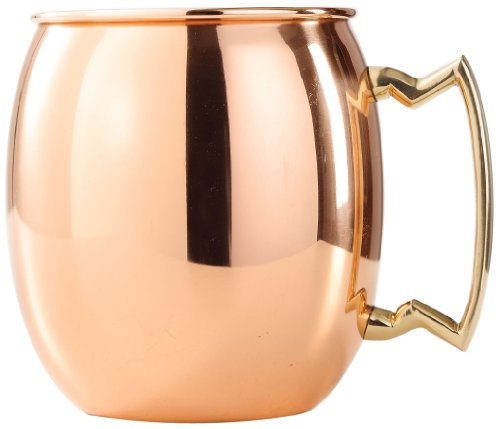 Amazon Lightning Deal 66% claimed: Old Dutch International Purveyors of The Original Moscow Mule Mug 24-Ounce Solid Copper Smooth Finish
