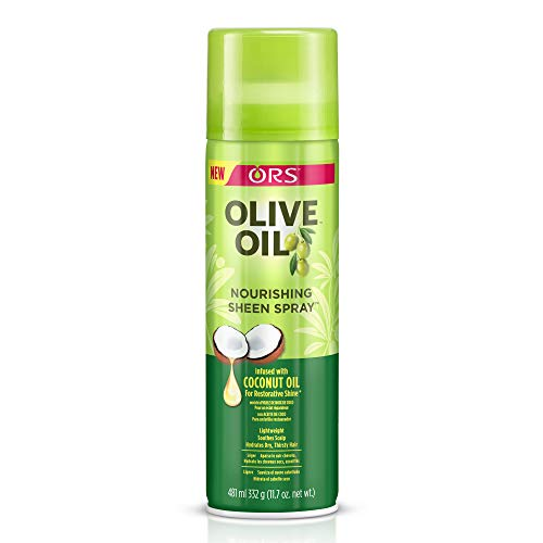 Sheen Spray - Olive Oil Ors Nourishing Sheen Spray, 11.7 oz (Pack of 2)