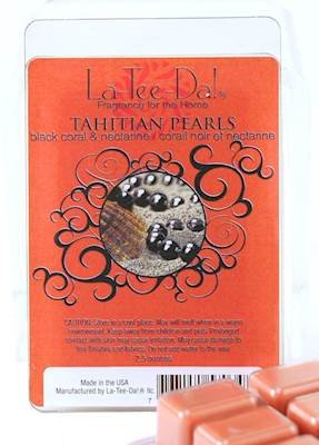 TAHITIAN PEARLS Magic Melts Scented Wax Tarts by La Tee - Pearl Tart