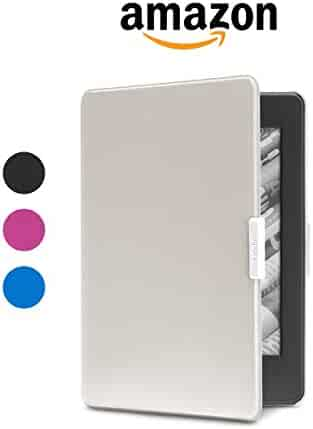 Amazon Protective Cover for Kindle Paperwhite, White/Grey - fits all Paperwhite generations