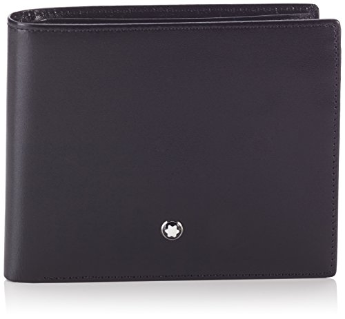 Mont Blanc Ring (Montblanc Mont Blanc Meisterstuck 10CC Mens Leather Wallet With Coin Case 5524)