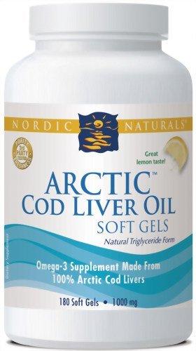 Arctic Cod Liver Oil - Lemon (540 Softgels)
