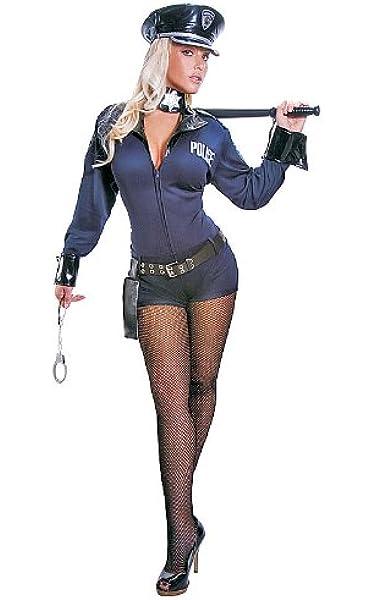 Dress up America Disfraz de Oficial de policía Sexy Adulto de ...