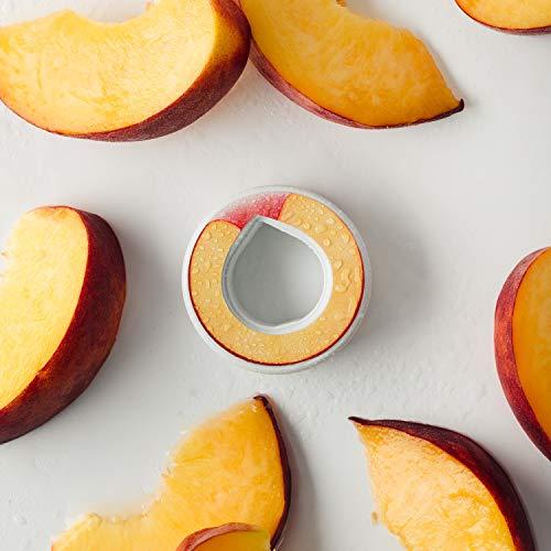 air up Duft-Pods für air up Trinkflasche - 6er Pack für insgesamt 30 Liter Geschmack in den Geschmacksrichtungen Limette, Zitrone-Hopfen, Orange-Maracuja, Apfel und Pfirsich (Pfirsich)