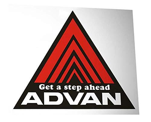 ADVAN Wheels and Tires Automotive Car Decal Orafol Vinyl Sticker - JDM Japanese Domestic Market