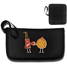 KBLXII BAG Pizza Beer Boxing Printing Multi-function Card Package Travel Document Receipt And Passport Bag