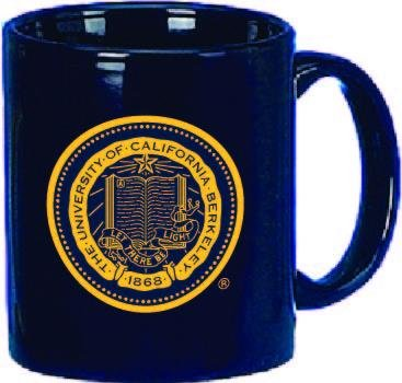 Shop College Wear UC Berkeley Golden Bears Cal Mug 11 Oz. - Navy