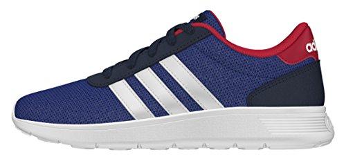 adidas Lite Racer K, Zapatillas de Deporte para Niños Azul (Maruni / Ftwbla / Rojpot)