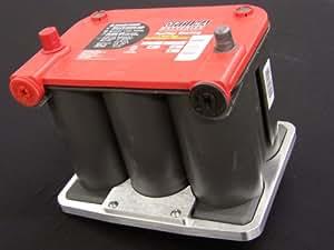 Amazon.com: 75/35 Billet Optima Battery Hold Down Tray