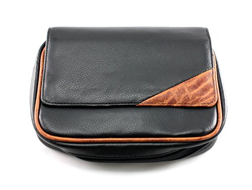 - Skyway Remington Leather 4 Pipe Tobacco Pouch Case with Carry Strap
