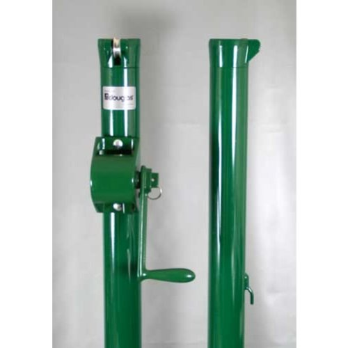 Douglas E-Z Tennis Post w/ External Wind (Green)